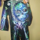 Костюм скелета з маскою F&F, світиться в темряві, на 3-4 роки