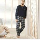 Livergy костюм для дома и отдыха XXL 60/62 фланель штаны