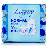 Прокладки женские гигиенические Lingery Normal Ultra 10 шт. в упаковке