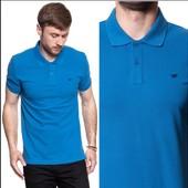 Стильная джерси футболка- поло из био-хлопка, 100% оригинал от Mustang, размер М