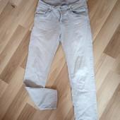 Світлі стречеві джинси із паєтками, 10% знижка на УП
