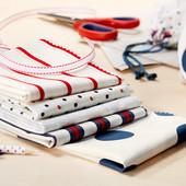 *Лот 2 шт* Ткань для шитья и дизайна от Tcm Tchibo, Германия