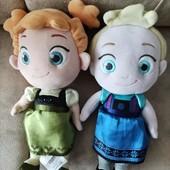 Мягкая игрушка Дисней принцсса Анна и Эльза оригинал Холодное сердце