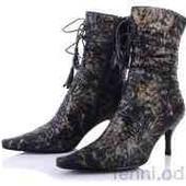 Сапоги женские демисезонные на каблуке. высота каблука 7 см.