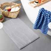 М'який високотехнологічний килимок для ванної Tchibo (Німеччина), 70 см * 45 см, синійй
