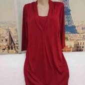 !!! НЕ пропустите новое платье - туника цвета бордо, размер L.