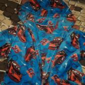 5-7лет Шикарный теплый халат для мальчика, вельсофт