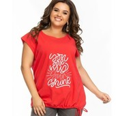 женская футболка батал 50-56р , 4 цвета