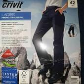 Функциональные женские треккинговые брюки штаны Crivit Германия М-L