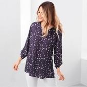 Свободная блуза туника Tchibo(Германия), размер евро 40 (наш 46 )