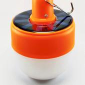 Светодиодная аккумуляторная лампочка, светильник, лампа LF-1525 с солнечной батареей