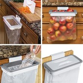Навесной держатель для мусорных пакетов Attach-A-Trash Мусорное ведро