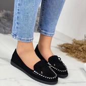 Туфли-мокасины женские