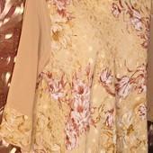 Роскошный блузон для женщин, шифон