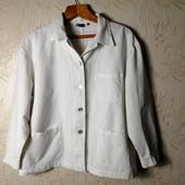 ЛоВиЛоТы! Белый женский льняной пиджак