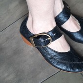 Rieker! Из натуральной кожи. Мягкие удобные,как тапочки туфли мокасины, 24 см