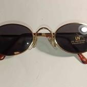 коричневые солнце защитные очки женские