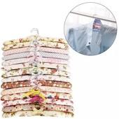 Текстильные плечики для деликатных тканей
