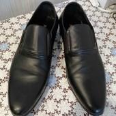 Дорогие кожаные туфли Basconi р. 38, ньюанс