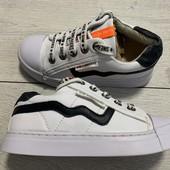 Полностью кожаные кроссовки Shoesme 28 размер стелька кожа с супинатором 17,5 см