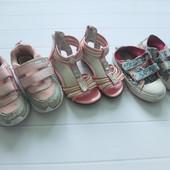 Лот обуви дворовой для девочки р.27, стельки 16 см