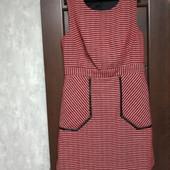 Фирменный красивый сарафан-платье в состоянии новой вещи р.14-16