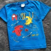 Among us , футболка 116 р