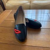 Гарні туфлі балетки виробник Польща,р 39,40 один на вибір