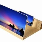 Увеличитель экрана для смартфона подставка для телефона увеличительная