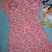 Нежное фирменрое платьице,на девочку 6-8 лет.