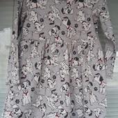 Фирменное платье в далматинцах на 5-6 лет