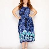 Очень красивые платья р.50/58. Ткань штапель.