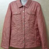 Куртка-пиджак розовая, размер EUR 40-42
