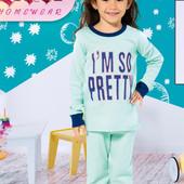Пижамки для малышек. Отличное качество. Турция.