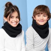 ☘ Снуд-шарф з м'якого трикотажу з флісовою підкладкою від Tchibo (Німеччина), універсальний розмір