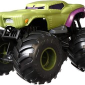 Велика металева машинка Халк hot wheels monster trucks Hulk. Оригінал Хот вілс