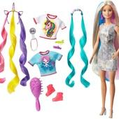 Барбі єдиноріжка з аксесуарами Barbie fantasy hair doll, оригінал від Маттел. Барби