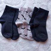 Комплект носочків.3шт.Розмір 19-22