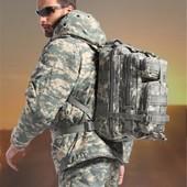 Тактический штурмовой рюкзак Abrams pixel wood