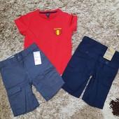 Kiabi набор шортики+футболка
