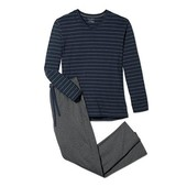 ⚙ Чолові штани для сну і відпочинку, органічна бавовна, Tchibo (Німеччина), рр.: 56-58 (хL євро)