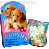 Ласуня Беби витаминно-минеральная добавка для собак, 100 табл., Норис