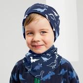 ⚙Лот шарфик ⚙ Якісний двосторонній шарф, органік бавовна Tchibo (Німеччина), р. універсальний