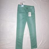 р. 152-158, новые джинсы узкачи для мальчика Alive