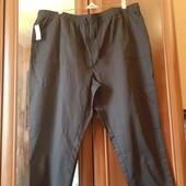 Новые брюки большого размера Damart, разм. 56. Сток. 100% коттон.