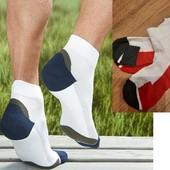 лот 2 пары Функциональные спортивные носки с утепленной стопой от tchibo (германия), размер 35-38