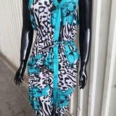 Женский халат/платье Х/Б на брителях, разные цвета, смотрим замеры. Л-5хл.