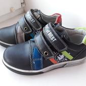 Туфли Y. TOP р-ры 27-30 синие, черные