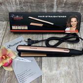 Утюжок Gemei GM 2955 для выпрямления волос с турмалиновым покрытием