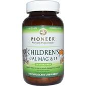 Детские витамины с Кальцием, Магнием и витамином D, со вкусом шоколада, 120 шт, Америка